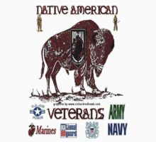 Native American Veterans by richardredhawk