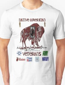 Native American Veterans T-Shirt