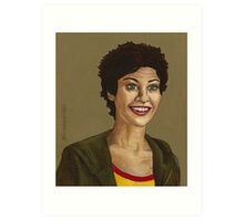 Living Conditions - Kathy Newman - BtVS Art Print