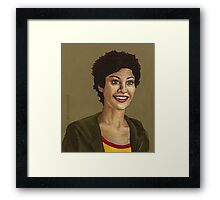 Living Conditions - Kathy Newman - BtVS Framed Print