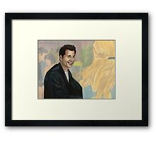 Lonely Heart - Burrower - Angel  Framed Print