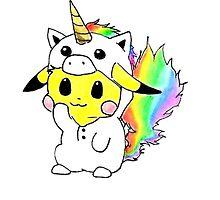 Pikachu by gabby-gator