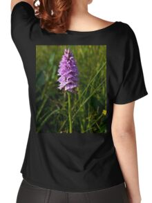 Spotted Orchid, Kilclooney, Donegal Women's Relaxed Fit T-Shirt