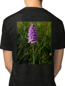Spotted Orchid, Kilclooney, Donegal Tri-blend T-Shirt