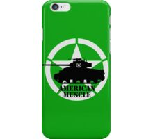 American Muscle WW2 iPhone Case/Skin