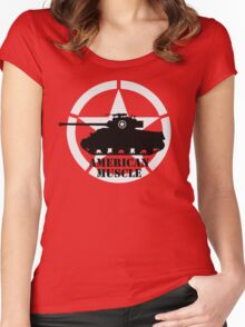 American Muscle WW2 Women's Fitted Scoop T-Shirt