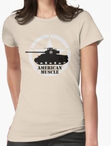 American Muscle WW2 Womens Fitted T-Shirt