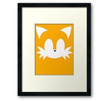Minimalist Tails Framed Print