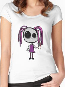 Butcher Girl Women's Fitted Scoop T-Shirt