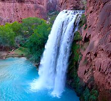 Havasu Falls, Havasu Canyon by MeredithW