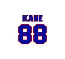 National Hockey player Patrick Kane jersey 88 Photographic Print
