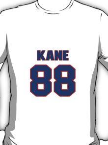 National Hockey player Patrick Kane jersey 88 T-Shirt