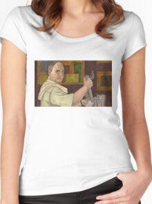 Beer Bad - Bar Owner - BtVS Women's Fitted Scoop T-Shirt