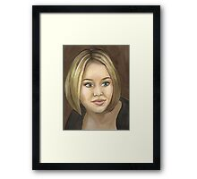 Wild at Heart - Veruca - BtVS Framed Print