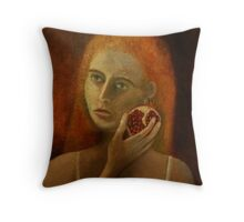 Persephone and the Pomegranate Throw Pillow