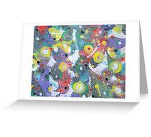 Random Multicoloured Greeting Card