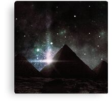 Pyramid Nights Canvas Print