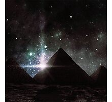Pyramid Nights Photographic Print
