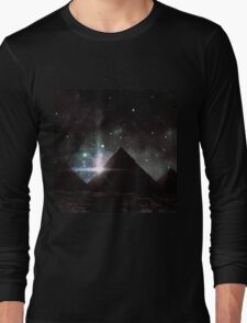 Pyramid Nights Long Sleeve T-Shirt