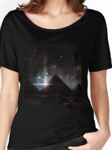Pyramid Nights Women's Relaxed Fit T-Shirt
