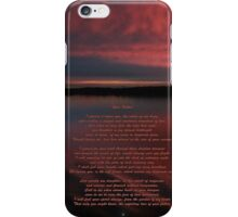 Your Father iPhone Case/Skin