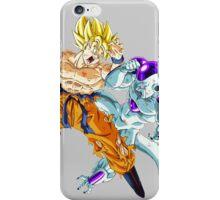 Goku vs. Frieza iPhone Case/Skin