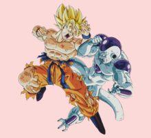Goku vs. Frieza Kids Clothes