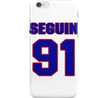 National Hockey player Tyler Seguin jersey 91 iPhone Case/Skin