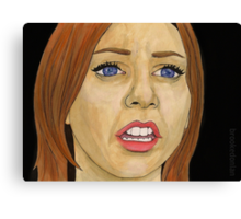 Something Blue - Willow - BtVS Canvas Print