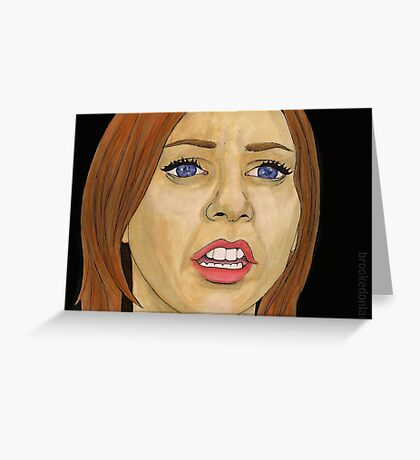 Something Blue - Willow - BtVS Greeting Card