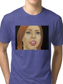 Something Blue - Willow - BtVS Tri-blend T-Shirt