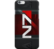 N7 sheild textured background iPhone Case/Skin