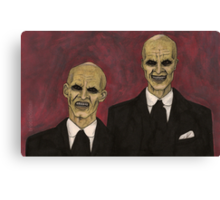 Hush - The Gentlemen - BtVS Canvas Print