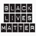 Black Lives Matter (BLACK STICKER) by BroadcastMedia