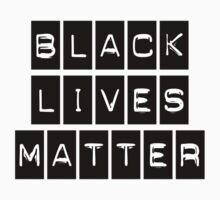 Black Lives Matter (BLACK STICKER) by BroadcastMedia