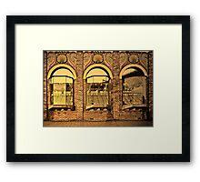 Inner City Lifestyle #2 Framed Print