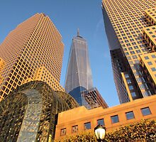 When The Sun Hits The Buildings by joan warburton