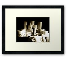 Naked. Framed Print