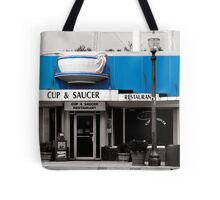 Cup and Saucer Tote Bag