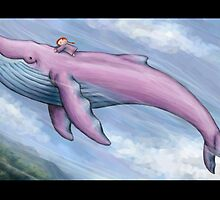 Ride the whale by Ine Spee