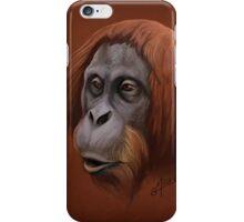 Orangutan Portrait iPhone Case/Skin