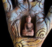Solar Buddha Sticker