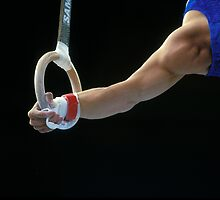 Gymnast on Rings by EileenLangsley