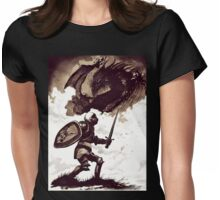 Fight Your Dragon Womens Fitted T-Shirt