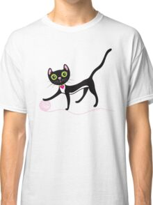 Cat with Yarn Classic T-Shirt