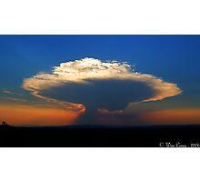 Nuclear sundown... Photographic Print