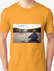 Paddling Toward the Beaver T-Shirt