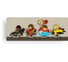 Team Arrow Goes - Kiddie Rides! Canvas Print