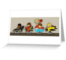Team Arrow Goes - Kiddie Rides! Greeting Card