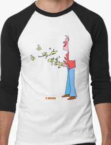 Bird Man Men's Baseball ¾ T-Shirt